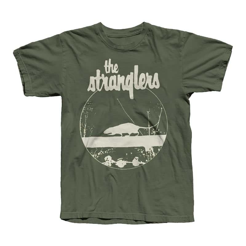 Buy Online Stranglers - Green Rattus T-Shirt