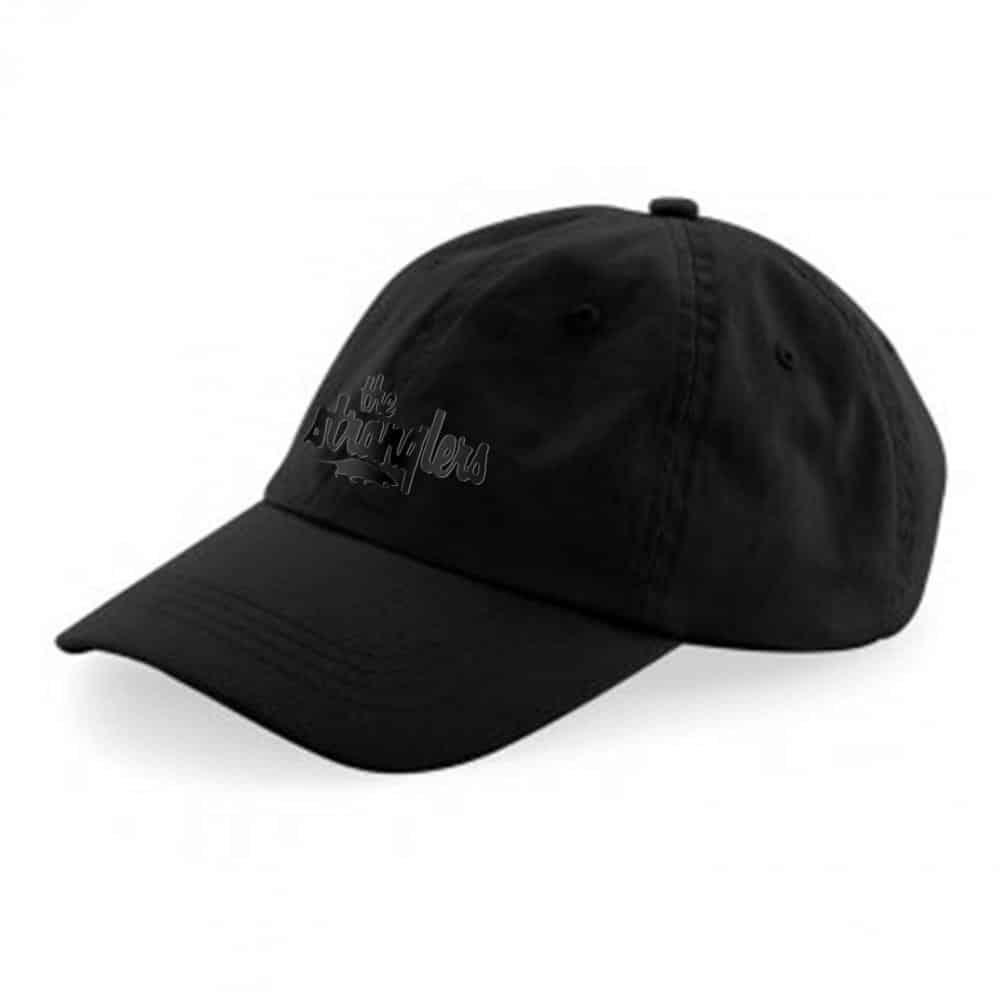 Buy Online Stranglers - Black Logo Baseball Cap