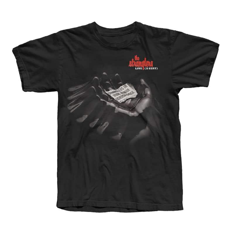 Buy Online Stranglers - Live X-Cert T-Shirt