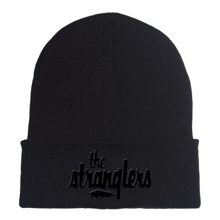 Buy Online Stranglers - Black Logo Beanie