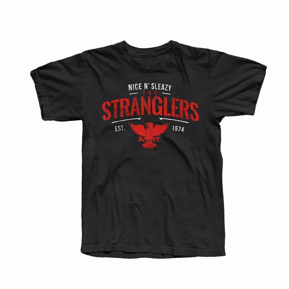 Buy Online Stranglers - Nice N Sleazy Raven T-Shirt