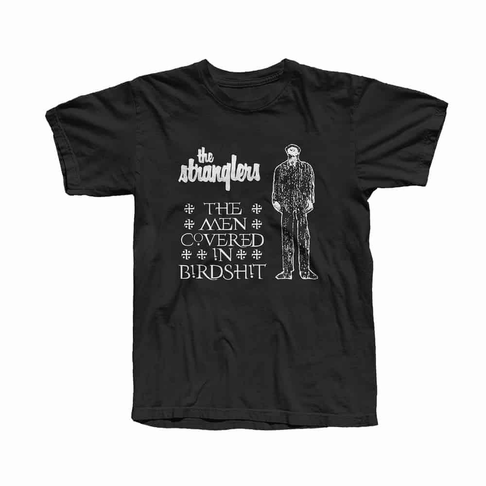 Buy Online Stranglers - Men In Bird Shit T-Shirt