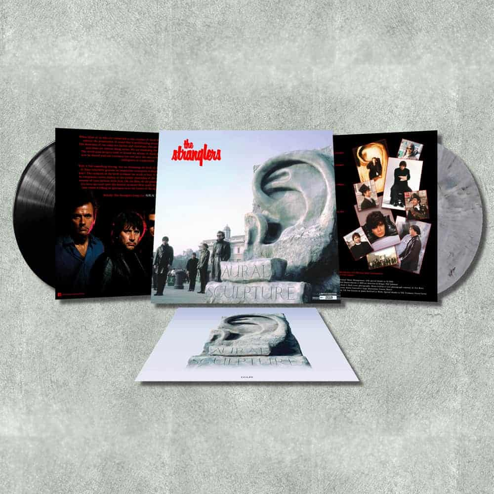 Buy Online Stranglers - Aural Sculpture Marble Stone/Black Double Vinyl (Slightly Damaged)