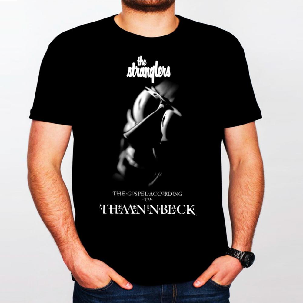 Buy Online Stranglers - The Gospel According To The Men In Black T-Shirt