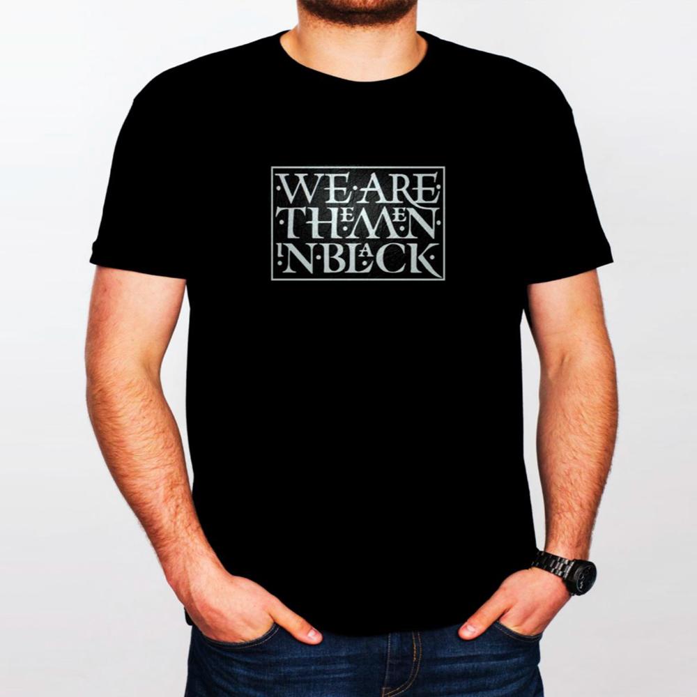 Buy Online Stranglers - We Are The Men In Black T-Shirt