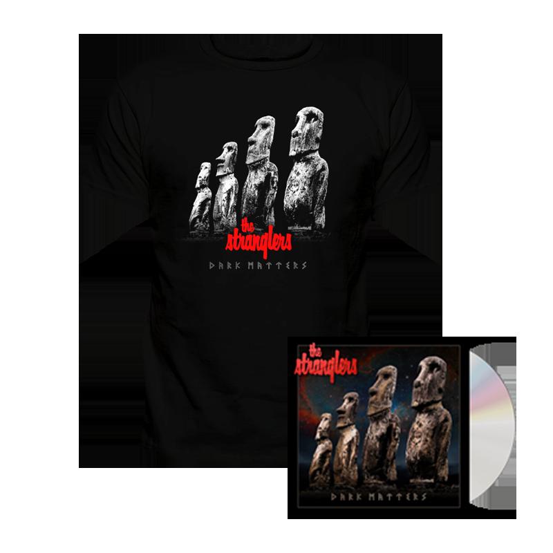 Buy Online Stranglers - Dark Matters CD Album + T-Shirt (Exclusive To Store)