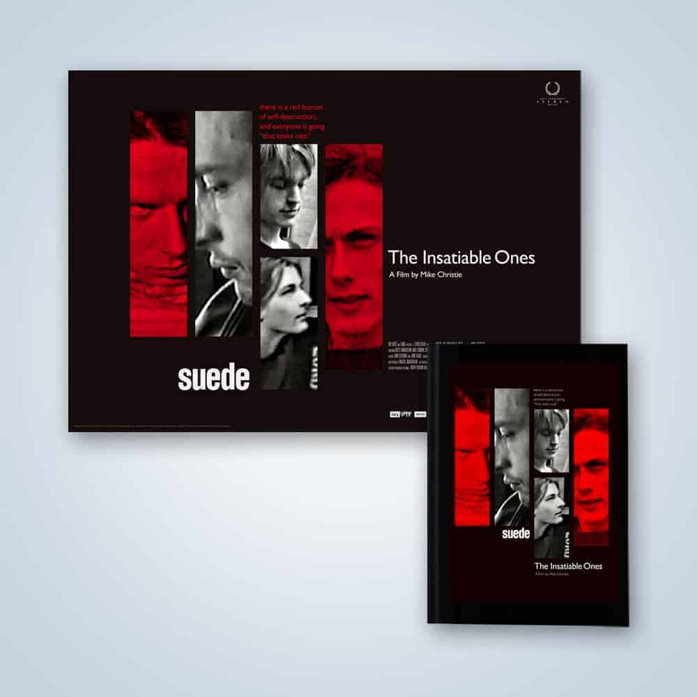 Buy Online Suede - Suede: The Insatiable Ones DVD + Poster Print (Signed)