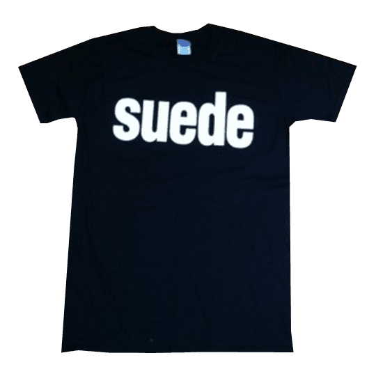 Buy Online Suede - Mens Suede Logo T-Shirt