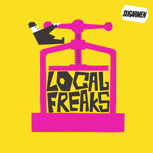 Buy Online Sugarmen - Local Freaks CD (Signed)