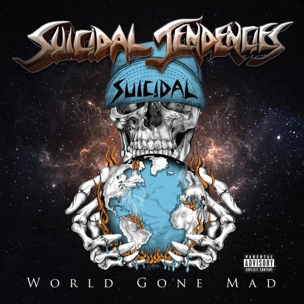 Buy Online Suicidal Tendencies - World Gone Mad 2LP (Limited Blue Vinyl)