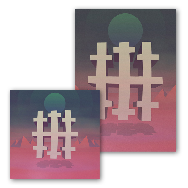 Buy Online Three Trapped Tigers - Silent Earthling (Black 2LP + CD) + Signed Art Print