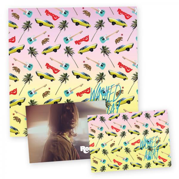 Buy Online Rooney - Washed Away LP (w/ CD Insert) + 2 x Exclusive Postcards