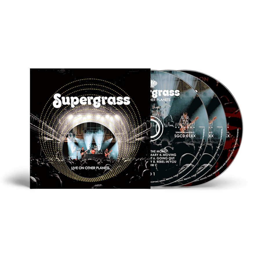 Buy Online Supergrass - Live On Other Planets