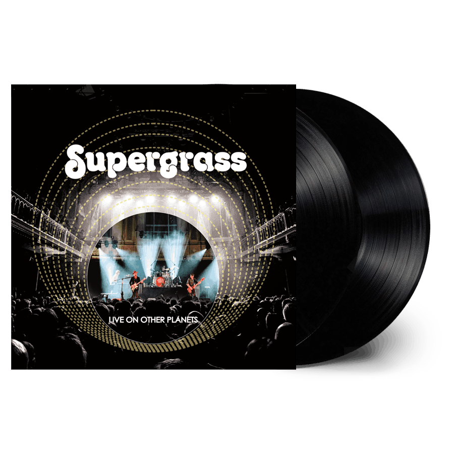 Buy Online Supergrass - Live On Other Planets Double Vinyl (Ltd Edition)