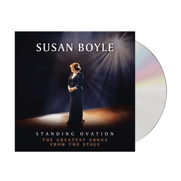 Buy Online Susan Boyle - Standing Ovation: The Greatest Songs From The Stage CD Album