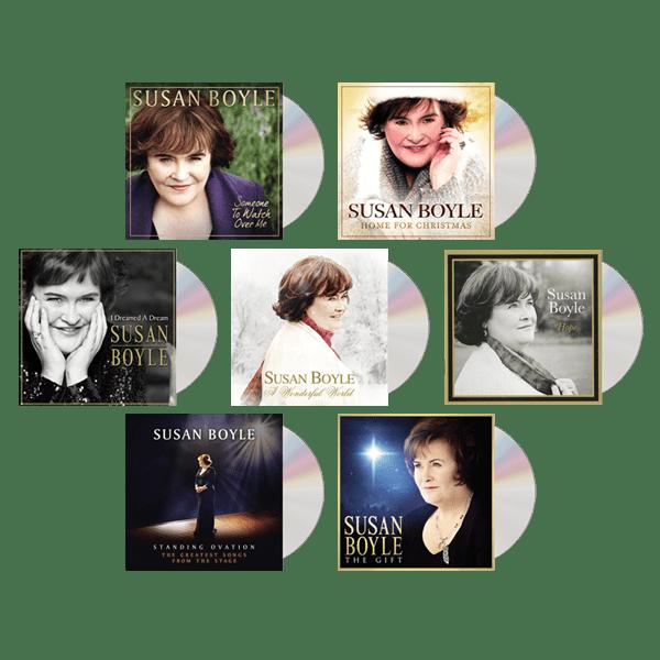 Buy Online Susan Boyle - Album Bundle