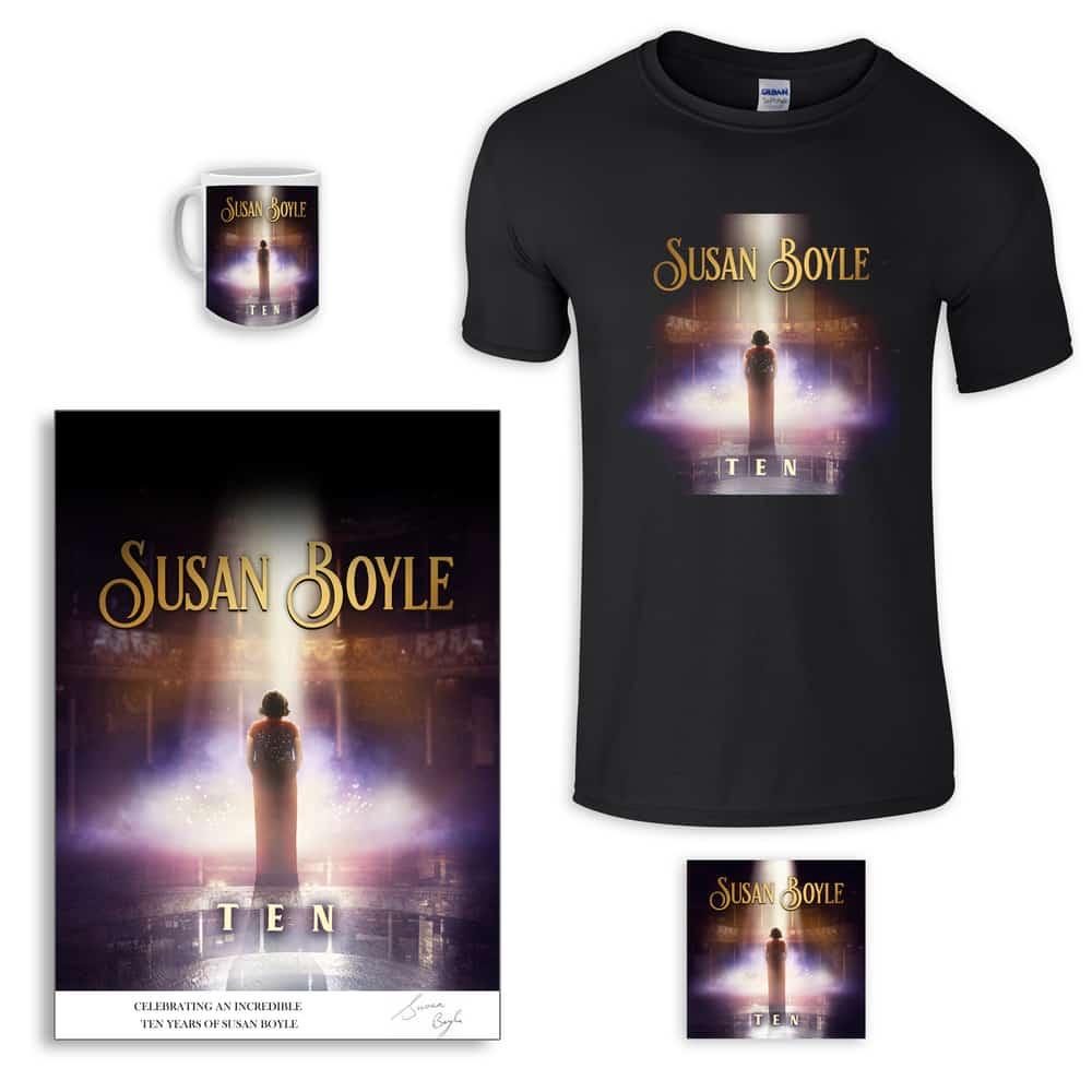 Buy Online Susan Boyle -  Mega Bundle: Celebrating Ten Years