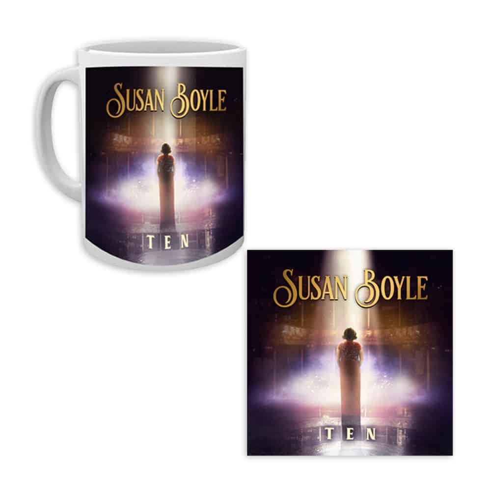 Buy Online Susan Boyle - TEN Mug + CD Bundle