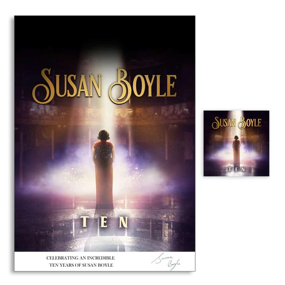 Buy Online Susan Boyle - TEN Poster + CD Bundle