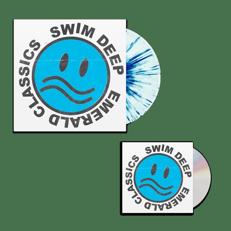 Buy Online Swim Deep - Emerald Classics CD (Signed) + Splatter Vinyl