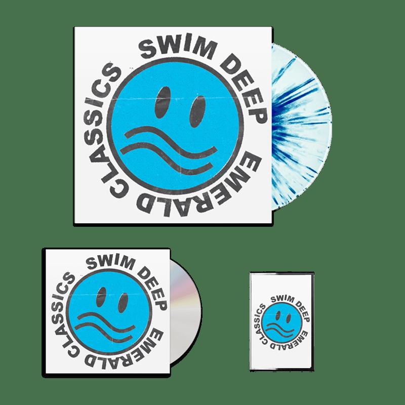 Buy Online Swim Deep - Emerald Classics CD (Signed) + Splatter Vinyl + Cassette