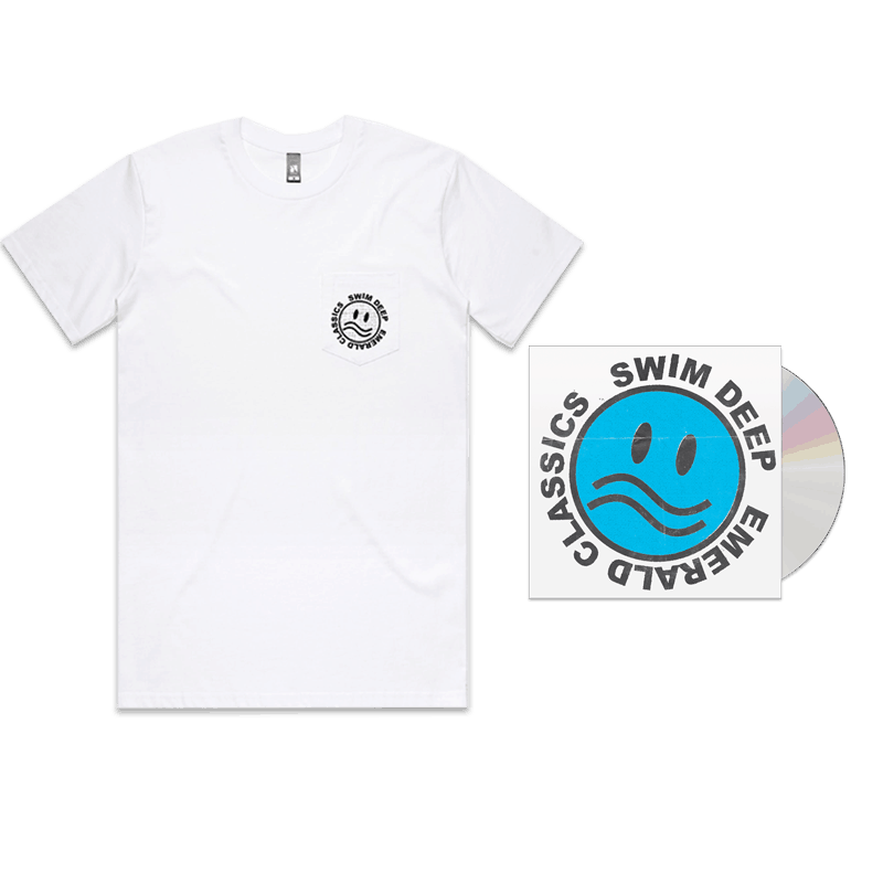 Buy Online Swim Deep - Emerald Classics CD + T-Shirt