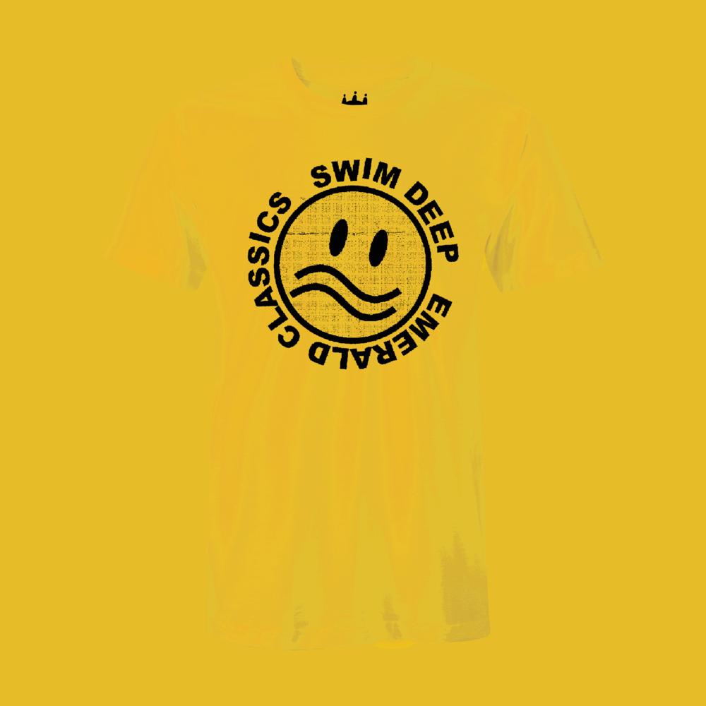 Buy Online Swim Deep - Yellow Logo T-Shirt