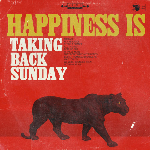 Buy Online Taking Back Sunday - Happiness Is