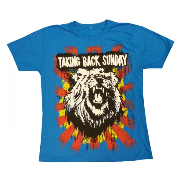 Buy Online Taking Back Sunday - Mens Lion Head T-Shirt