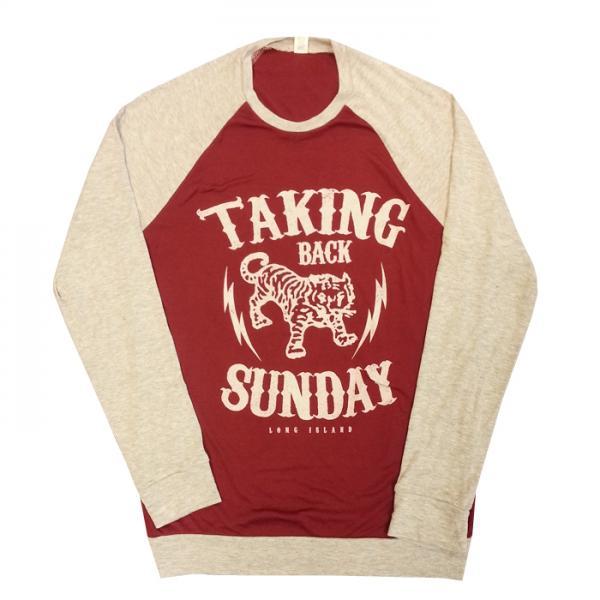 Buy Online Taking Back Sunday - Baseball Sweatshirt