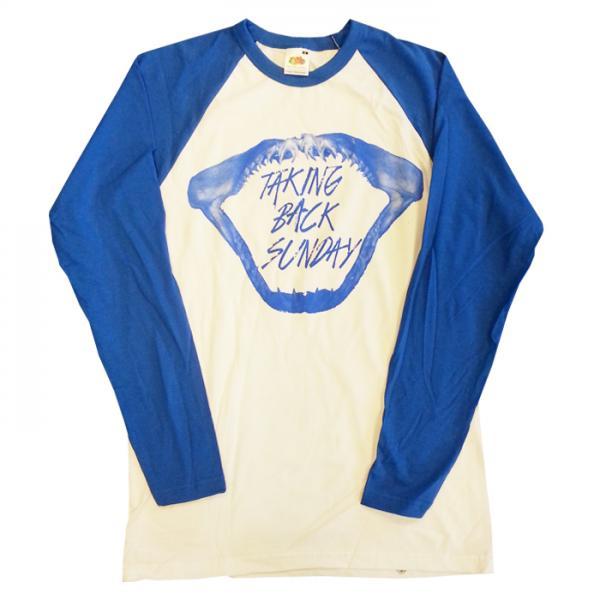 Buy Online Taking Back Sunday - Mens Shark Baseball T-Shirt