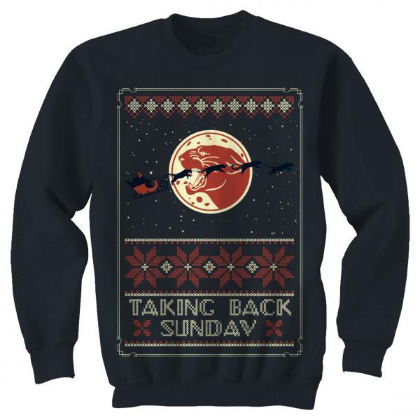 Buy Online Taking Back Sunday - Holiday Jumper