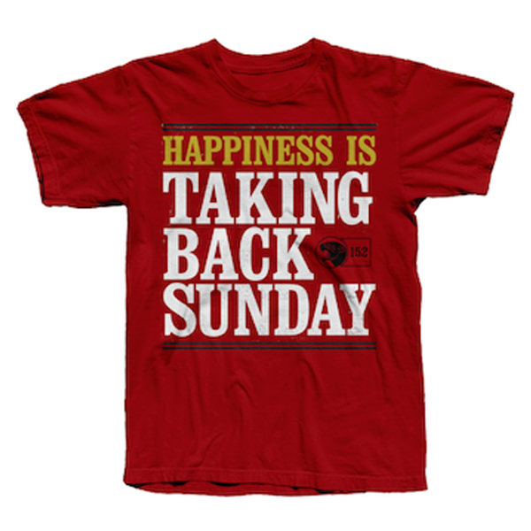 Buy Online Taking Back Sunday - Happiness Is... T-Shirt