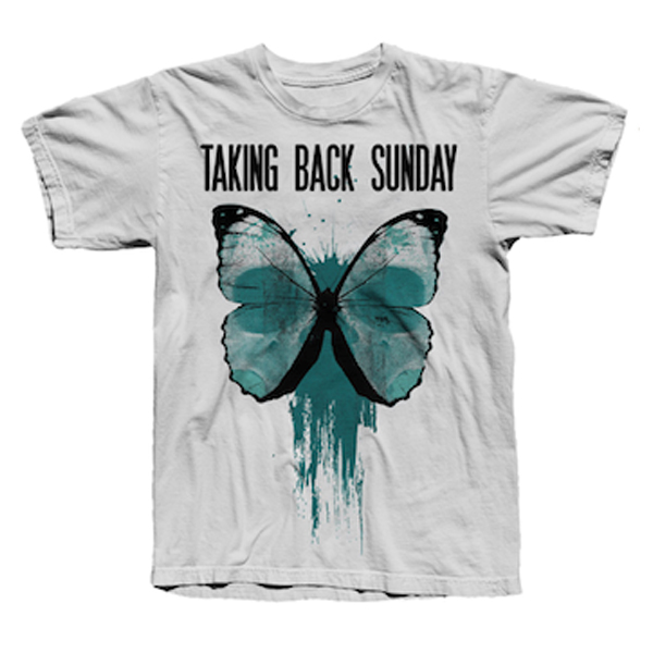 Buy Online Taking Back Sunday - Butterfly T-Shirt