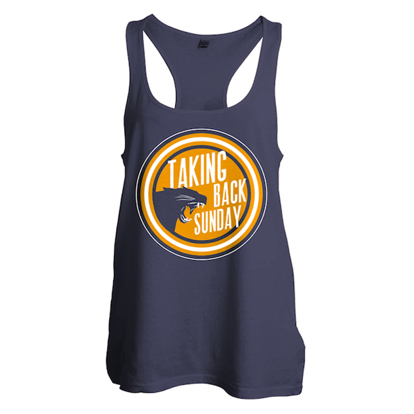Buy Online Taking Back Sunday - Ladies Panther Circle Damson Vest