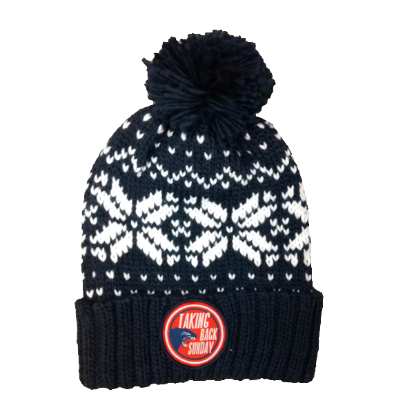 Buy Online Taking Back Sunday - Snowflake Bobble Hat