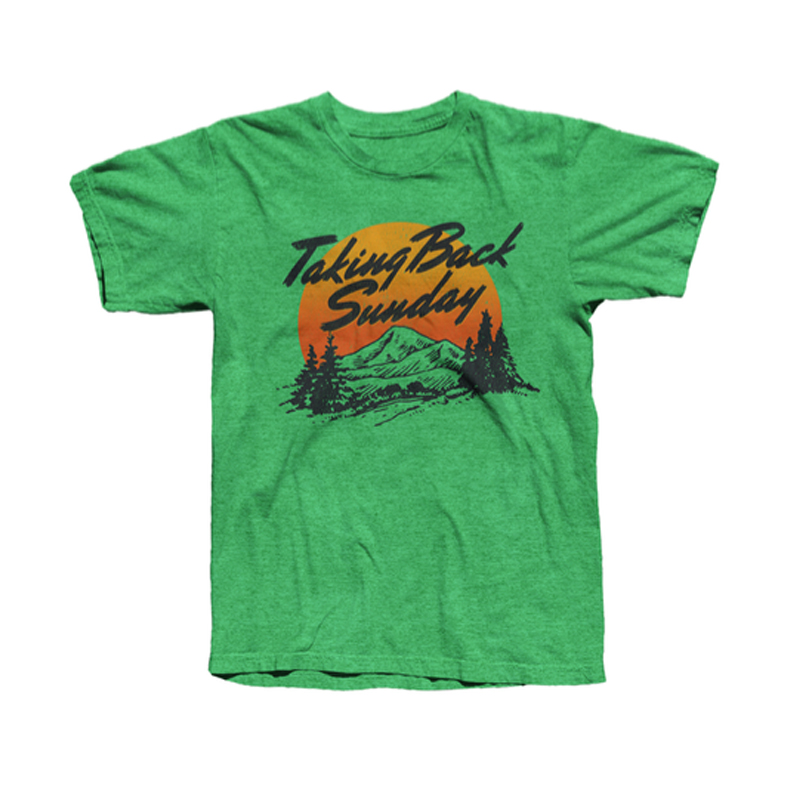 Buy Online Taking Back Sunday - Sunset T-Shirt