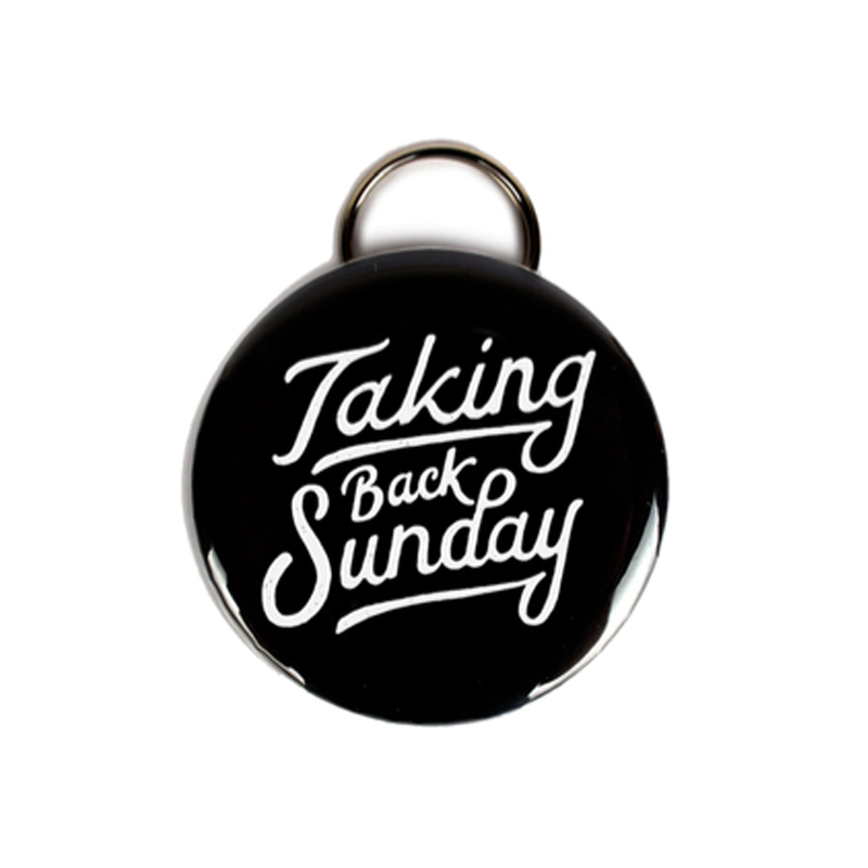 Buy Online Taking Back Sunday - Hand Drawn Bottle Opener Keyring