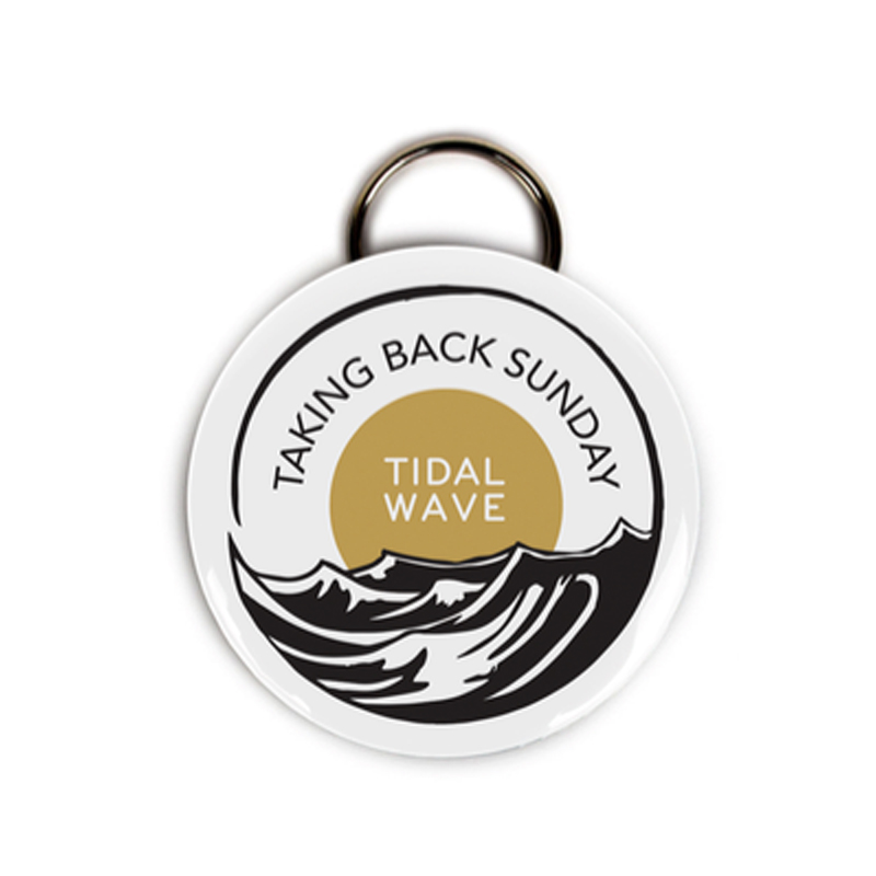 Buy Online Taking Back Sunday - Tidal Bottle Opener Keyring