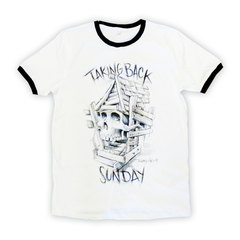 Buy Online Taking Back Sunday - Tattoo Ringer T-Shirt