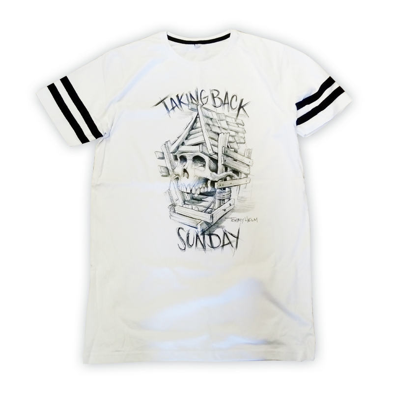 Buy Online Taking Back Sunday - Tattoo Longline T-Shirt
