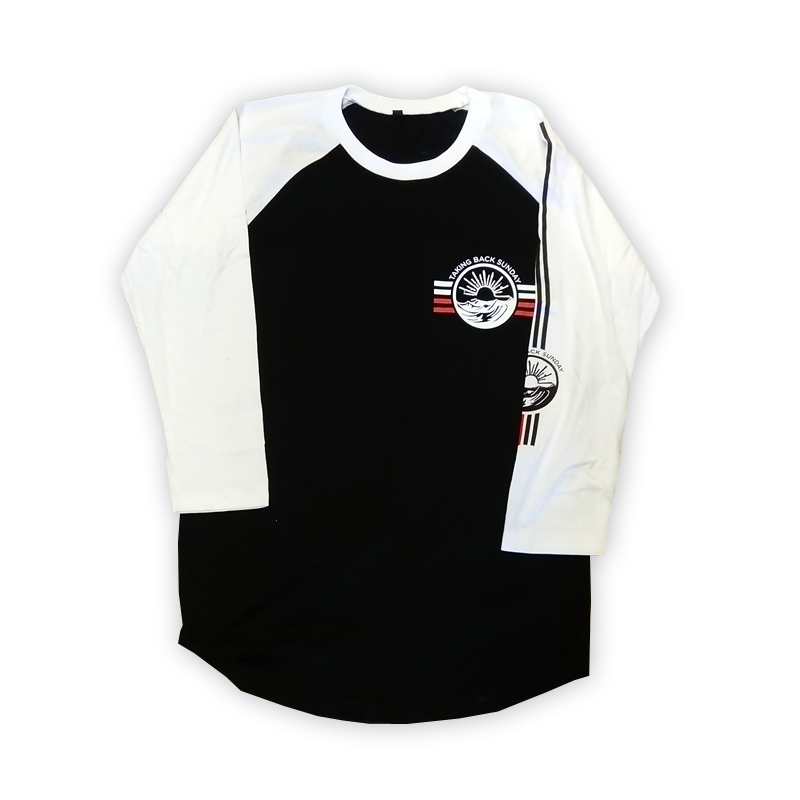 Buy Online Taking Back Sunday - Euro Tour 2018 Baseball T-Shirt