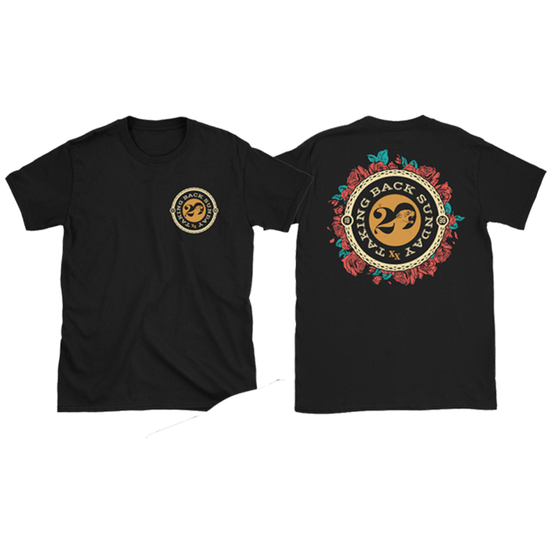 Buy Online Taking Back Sunday - Black Roses T-Shirt