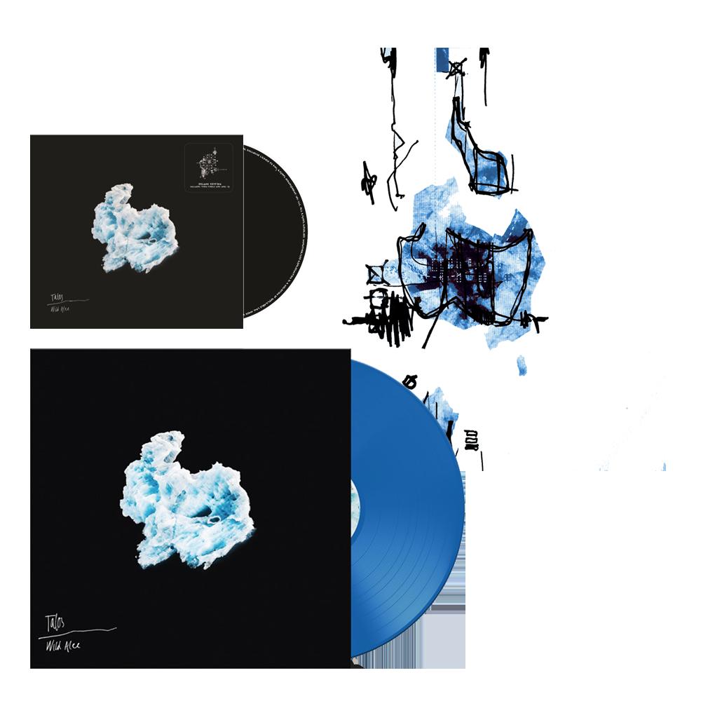 Buy Online TALOS - Wild Alee Deluxe CD + Deluxe Vinyl + Screen Print (Signed)