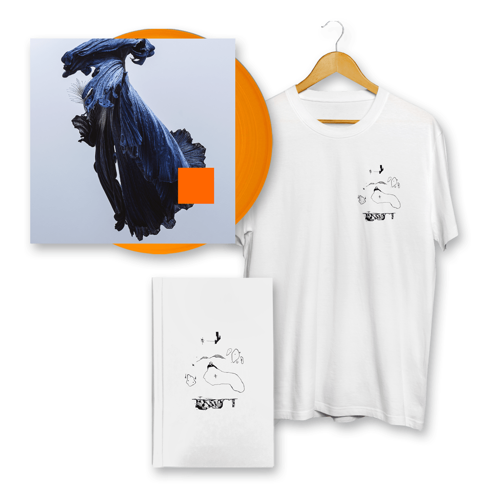 Buy Online Talos - Far Out Dust Orange Vinyl + T-Shirt + Sketch Book (Signed)