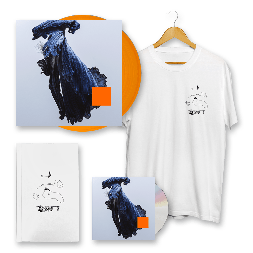 Buy Online Talos - Far Out Dust CD + Orange Vinyl + T-Shirt + Sketch Book (Signed)