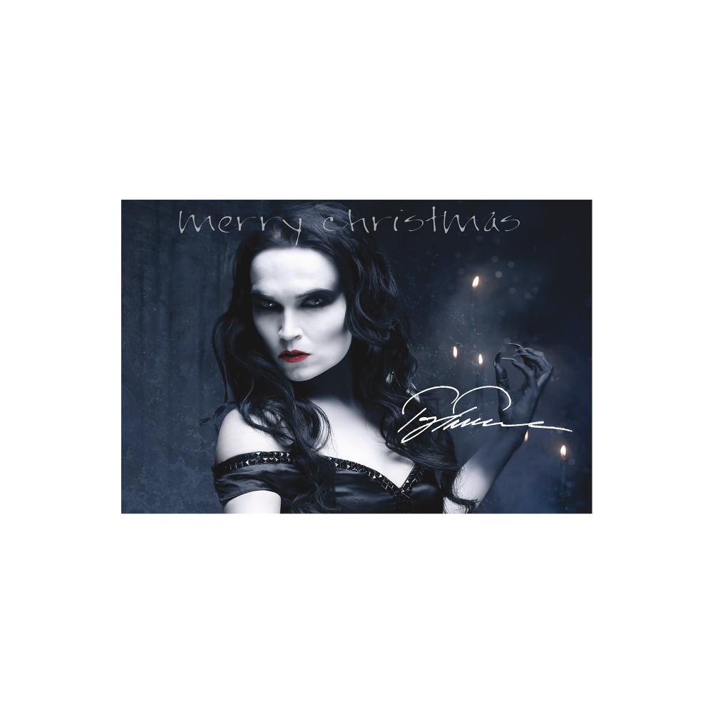 Buy Online Tarja - Christmas Card (Signed)