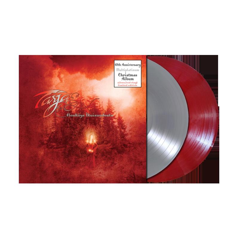 Buy Online Tarja - Henkäys Ikuisuudesta 2LP Vinyl (Silver / Red Ltd Edition)
