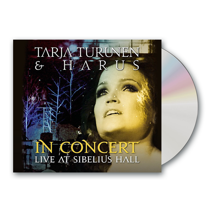 Buy Online Tarja & Harus - In Concert - Live At Sibelius Hall CD Digipak  (Argentinean Version)