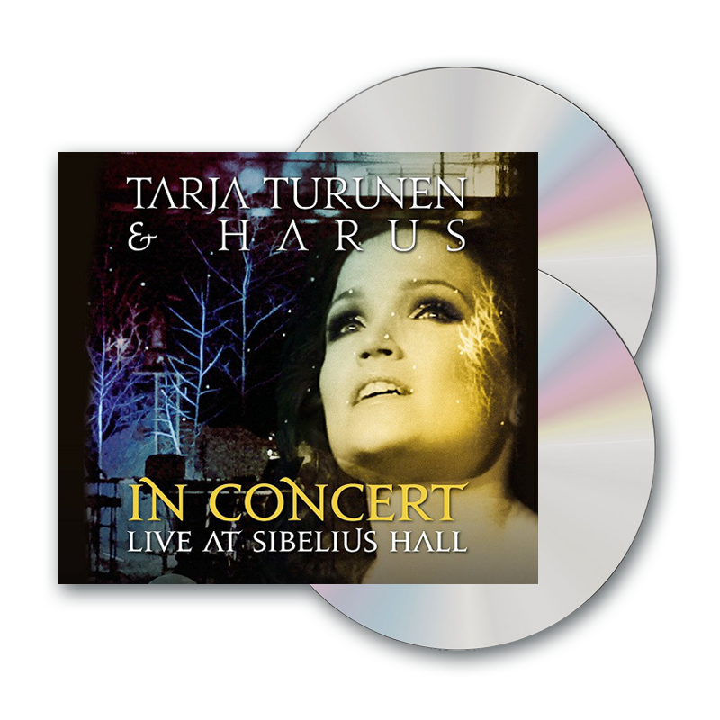 Buy Online Tarja & Harus - In Concert - Live At Sibelius Hall CD + DVD Album (Argentinean Version)